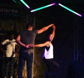 salsa dancing show